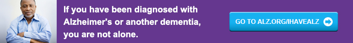 If you have been diagnosed with Alzheimer's or other dementia, you are not alone.